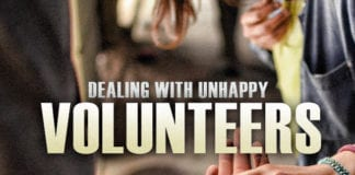 How to Deal with Unhappy Church Volunteers