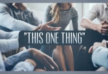 "Concentrate on ""This One Thing"""