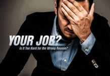 Is Your Job Too Hard for the Wrong Reason?