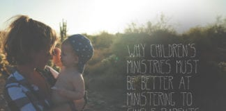 Why Children's Ministries Must Be Better at Ministering to Single Parents