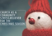 Church as a Community Stress-Reliever for the Christmas Season