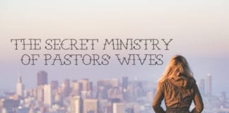 The Secret Ministry of Pastors' Wives