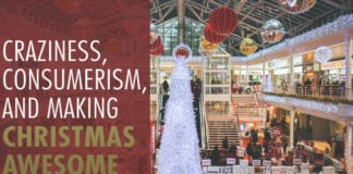 Craziness, Consumerism, and Making Christmas Awesome