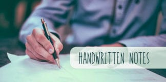The Power of the Electronic Handwritten Note