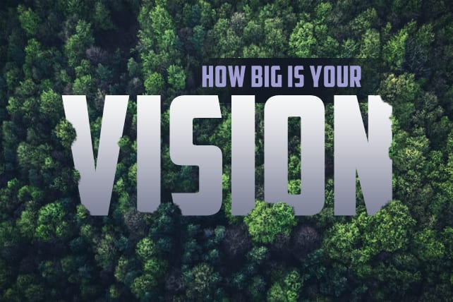 How Big Is Your Vision? 3 Determining Factors