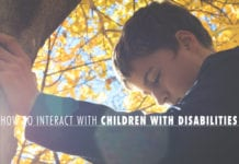 How to Interact with Children with Disabilities