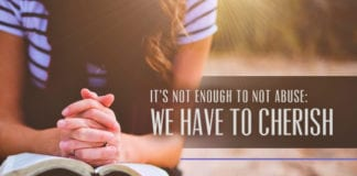 It's Not Enough to Not Abuse: We Have to Cherish