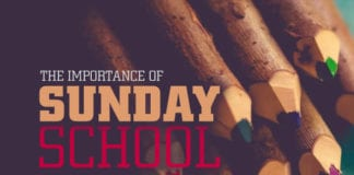 The Cosmic Importance of Children's Sunday School