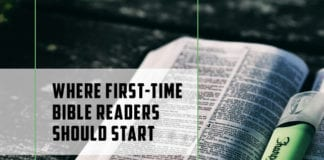 Where First-Time Bible Readers Should Start