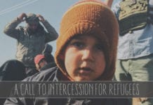A Call to Intercession for Refugees