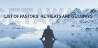 List of Pastors' Retreats and Getaways