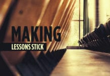The Key to Making Your Lessons Stick