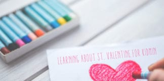 Learning about St. Valentine for Kidmin