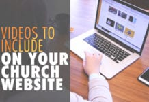 8 Suggested Videos to Include on Your Church Website