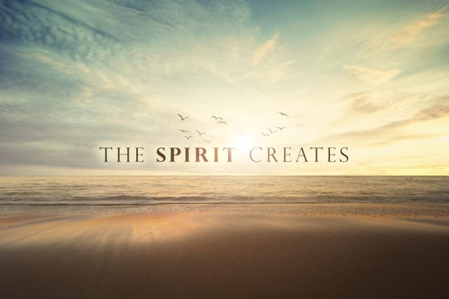 The Spirit Creates