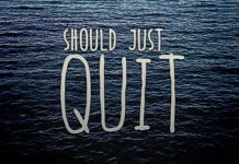 Why Some Worship Leaders Should Just Quit