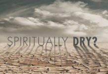 Spiritually Dry? Take These 7 Action Steps Today