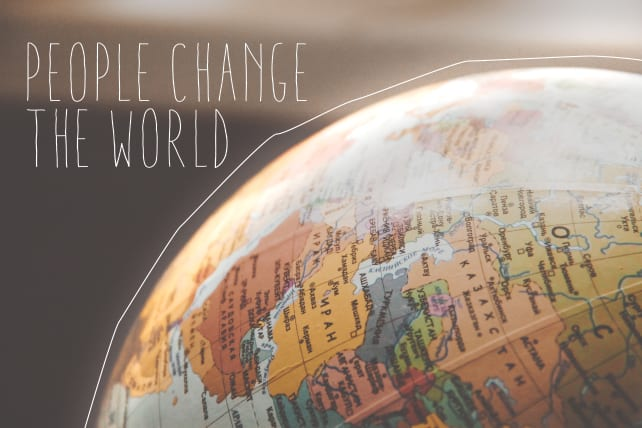 People Change The World