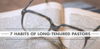 7 Habits of Long-Tenured Pastors