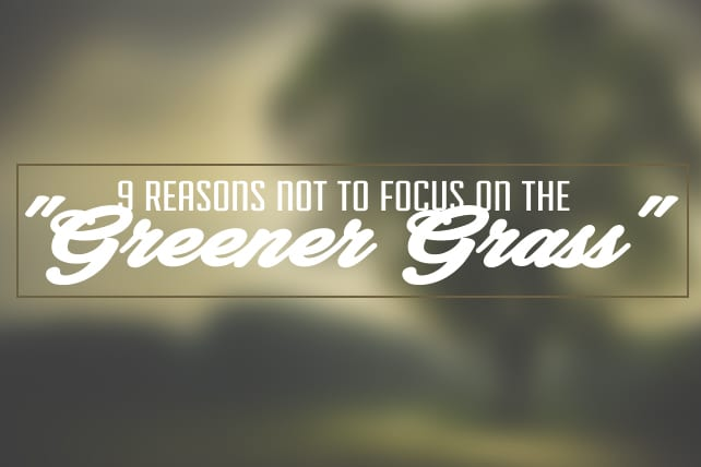 9 Reasons Not to Focus on the