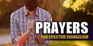 Prayers for Effective Evangelism