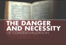 The Danger and Necessity of Contextualization