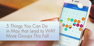 5 Things You Can Do in May that Lead to WAY More Groups This Fall