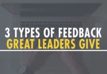 3 Types of Feedback Great Leaders Give