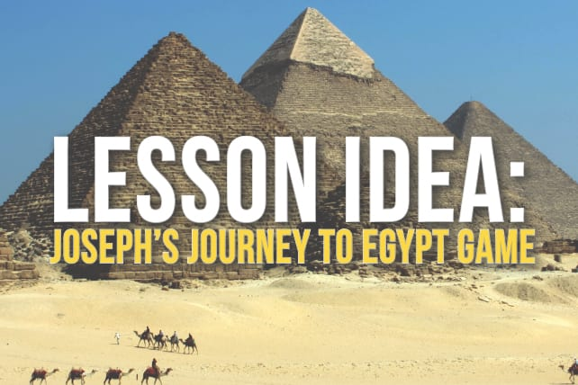 Joseph's Journey to Egypt Game