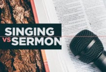 Do They Leave Service Singing the Songs or Reciting the Sermon?