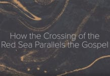 The Parting of the Red Sea and the Gospel