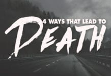 4 Ways that Lead to Death