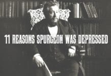 11 Reasons Spurgeon Was Depressed