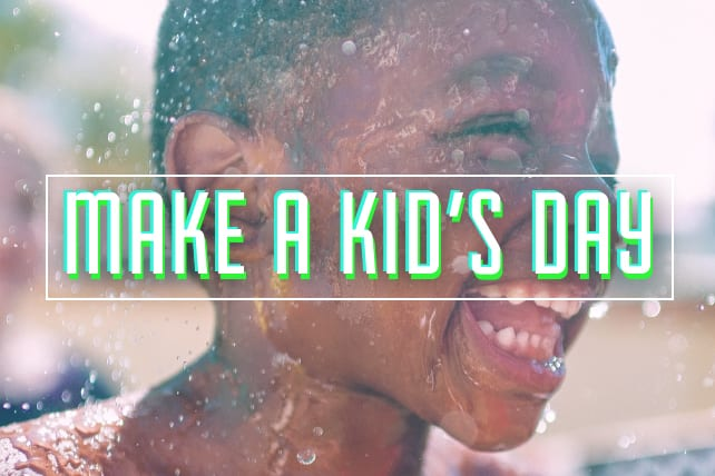 11 Things You Can Do To Make A Kid's Day