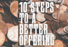 10 Steps To A Better Offering