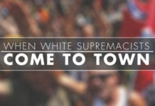When White Supremacists Come to Town