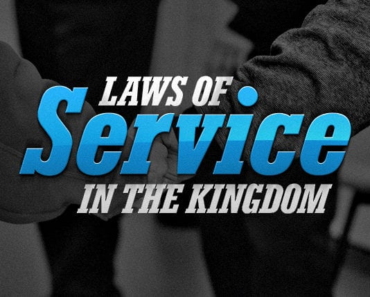 7 Laws of Service in the Kingdom