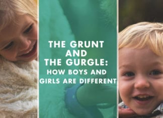 The Grunt and the Gurgle: How Boys and Girls are Different