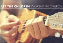 Let the Children Worship in Church
