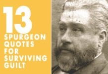 13 Spurgeon Quotes for Surviving Guilt