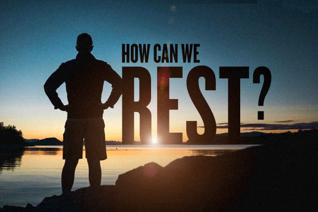 There Are Souls to Be Saved: How Can We Rest?