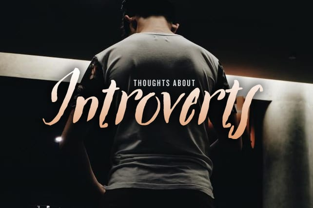 7 Thoughts About Introverts in Your Group