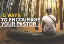 15 Ways to Encourage Your Pastor