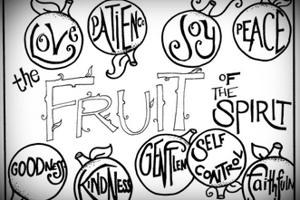 Fruit Of The Spirit Coloring Pages Free