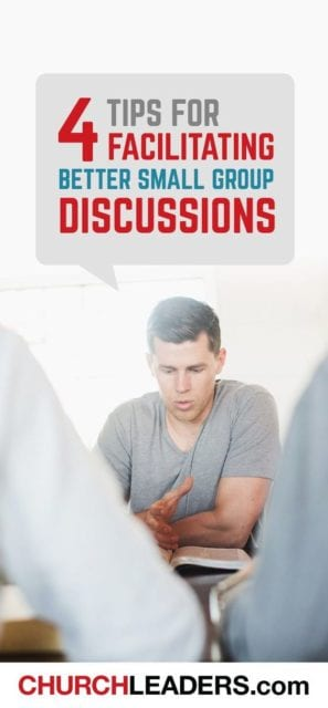 Chris Wesley offers four tips for creating a framework for engaging small group conversation.