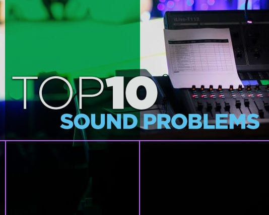 Top Ten Church Sound Problems