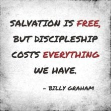 discipleship training quote