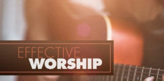 7 Habits of Highly Effective Worship Pastors