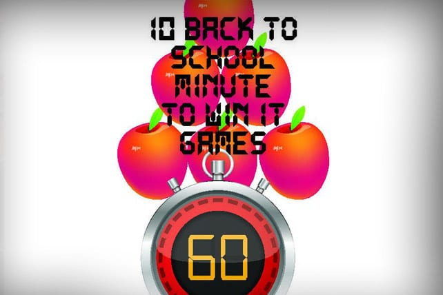 back to school minute to win it games