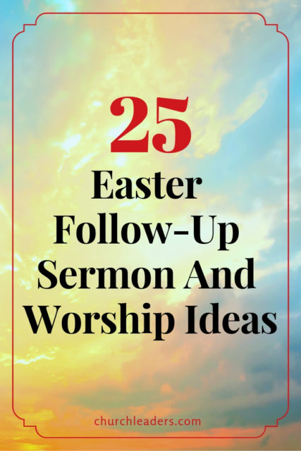 25 Easter Ideas pin